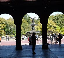 Bethesda Fountain, Central Park, New York City by lenspiro