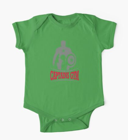 Captains Gym One Piece - Short Sleeve