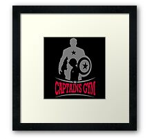 Captains Gym Framed Print
