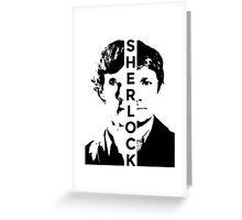 Sherlock and Watson - Partners Greeting Card
