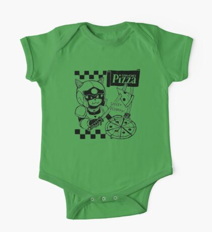 Cerviches Pizza One Piece - Short Sleeve