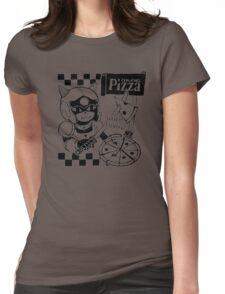 Cerviches Pizza Womens Fitted T-Shirt