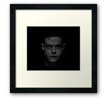 Elliot (Mr. Robot) Framed Print