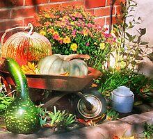 October in the Garden by Nadya Johnson
