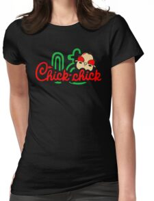 Chick Chick Womens Fitted T-Shirt