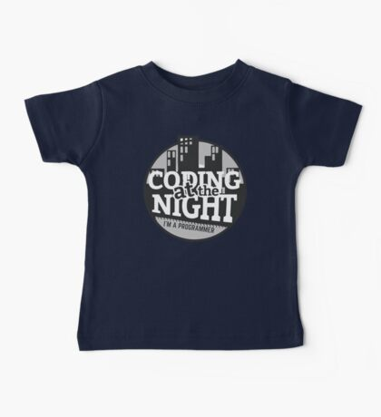 Coding At The Night Baby Tee