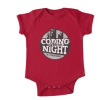 Coding At The Night One Piece - Short Sleeve