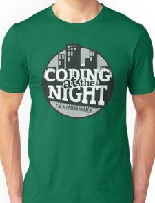 Coding At The Night Unisex T-Shirt