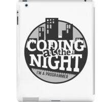 Coding At The Night iPad Case/Skin