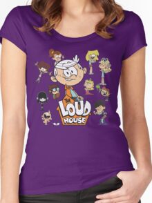 The Loud House - Family Women's Fitted Scoop T-Shirt
