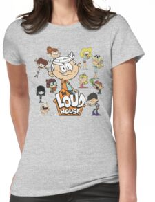 The Loud House - Family Womens Fitted T-Shirt