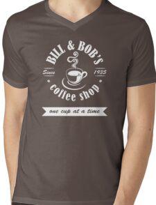 Coffee Shop Mens V-Neck T-Shirt