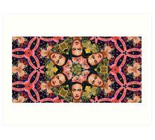 Frida Kahlo-idoscpe Art Print