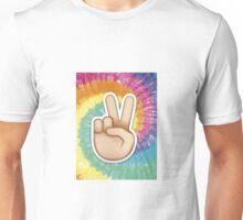 tie dye peace emoji Unisex T-Shirt
