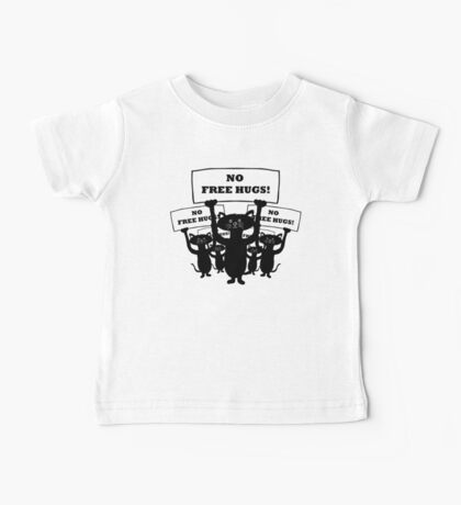 Cats Protest Baby Tee