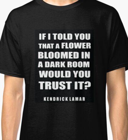 Kendrick Lamar Lyrics Classic T-Shirt