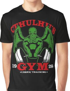 Cthulhus Gym Graphic T-Shirt