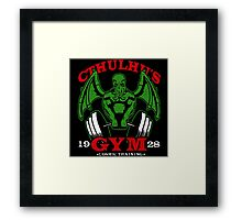 Cthulhus Gym Framed Print