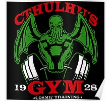 Cthulhus Gym Poster