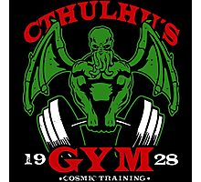 Cthulhus Gym Photographic Print