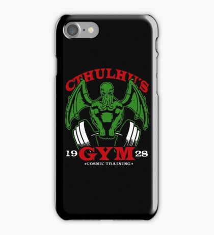 Cthulhus Gym iPhone Case/Skin