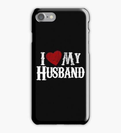 i love my husband iPhone Case/Skin