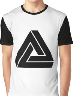Penrose triangle Graphic T-Shirt