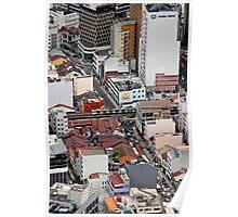 Above the City III - Kuala Lumpur, Malaysia. Poster