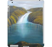 Mountain Waterfalls iPad Case/Skin