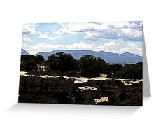 Hovenweep 30 Greeting Card