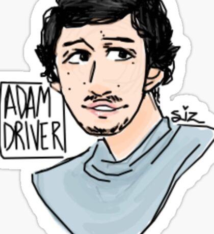 Adam Driver Sticker