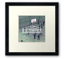 No Jumper  Framed Print