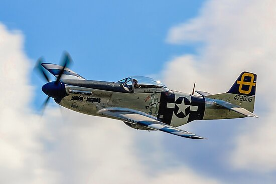 P-51D Mustang 44-72035 G-SIJJ Jumpin'-Jacques by Colin Smedley