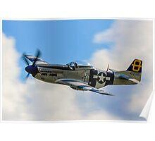 P-51D Mustang 44-72035 G-SIJJ Jumpin'-Jacques Poster