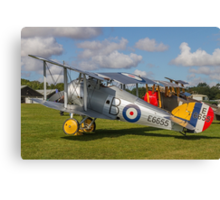 TVAL Sopwith 7F.1 Snipe replica E6655 Canvas Print