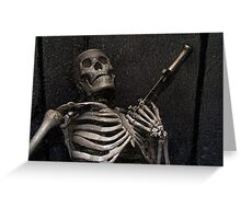 Death by the sword Greeting Card