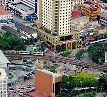Above the City VI - Kuala Lumpur, Malaysia. by Tiffany Lenoir