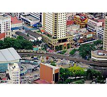 Above the City VI - Kuala Lumpur, Malaysia. Photographic Print