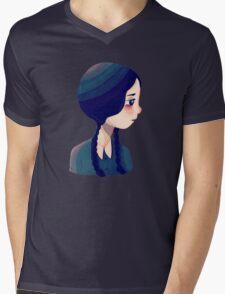 Wednesday Mens V-Neck T-Shirt
