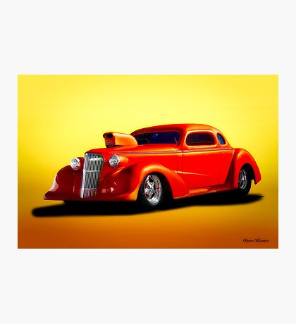 1936 Chevrolet 'Pro Street' Coupe Photographic Print
