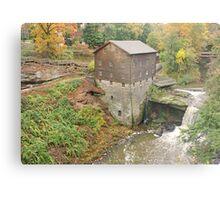 Mill Creek's Historic Mill Metal Print