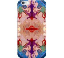 Light And Dark Energies Abstract Symbol Art iPhone Case/Skin