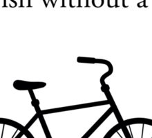 Feminism Bicycle Sticker