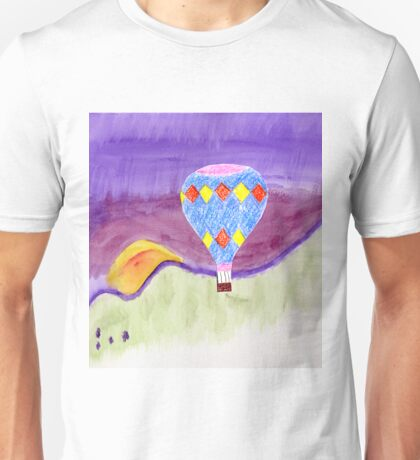 Hot Air Balloon in flight Unisex T-Shirt