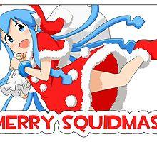 Merry Squidmas! Squid Girl! by fayezfaye