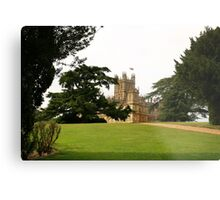Downton abbey house and grounds Metal Print