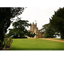 Downton abbey house and grounds Photographic Print