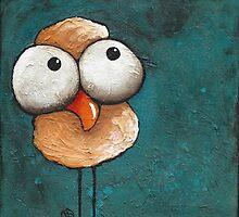 The yellow bird by StressieCat