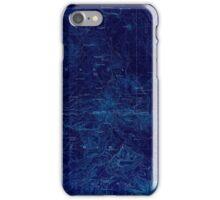USGS TOPO Map California CA Lassen Peak 299804 1894 250000 geo Inverted iPhone Case/Skin