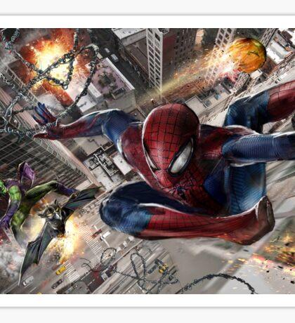 Spider-Man vs. Green Goblin Sticker